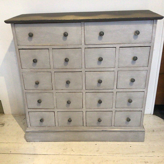 Early 20thC Painted Drawers
