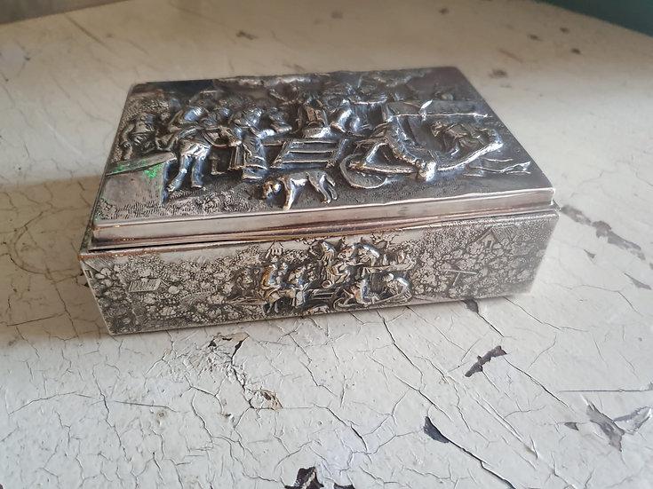 Danish Silver Plate Box