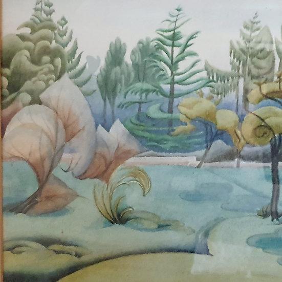 Watercolour by Joyce Francis