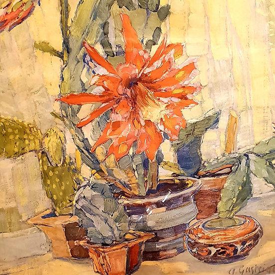 Vintage Floral French Print