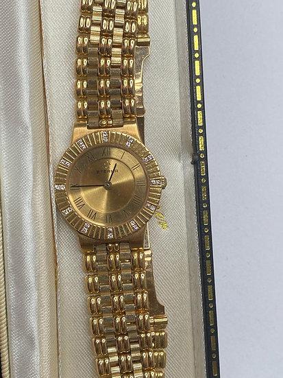 18ct Gold & Diamond Wach