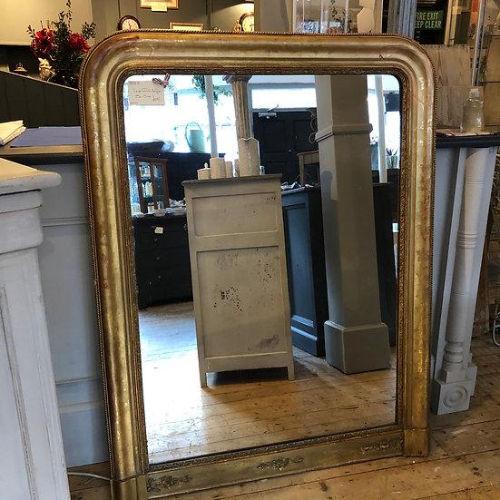 French Antique Gilt Mirror