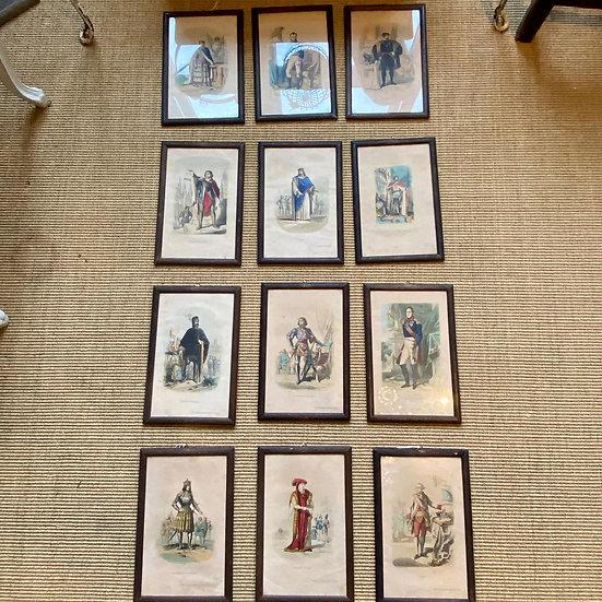 Set 12 Framed Prints