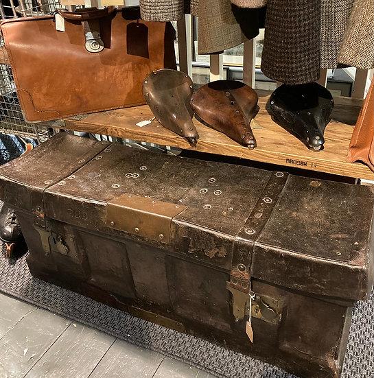 Leather Naval Ammo Box c1870