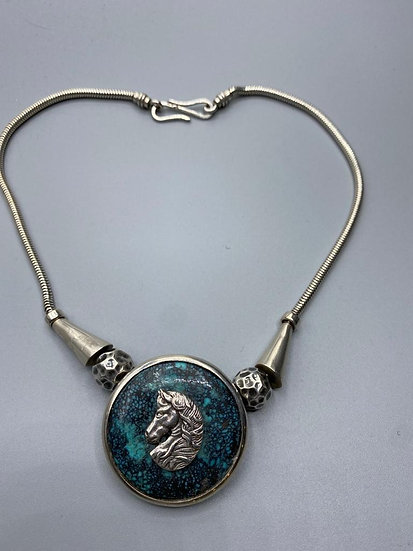 Silver Necklace by Joan Mckarrell