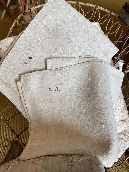 Antique Linen & Hemp Towels