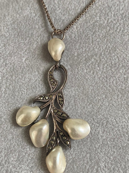 French Fresh Water Pearls c1900