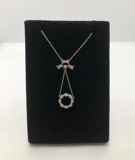 Diamond Platinum Pendant c1910