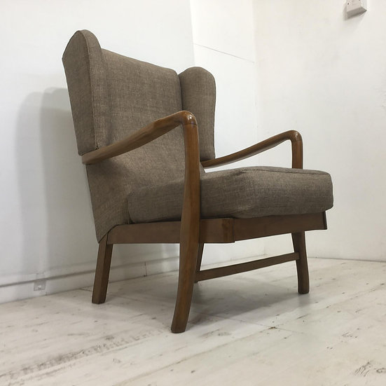 1930's Wingback Armchair