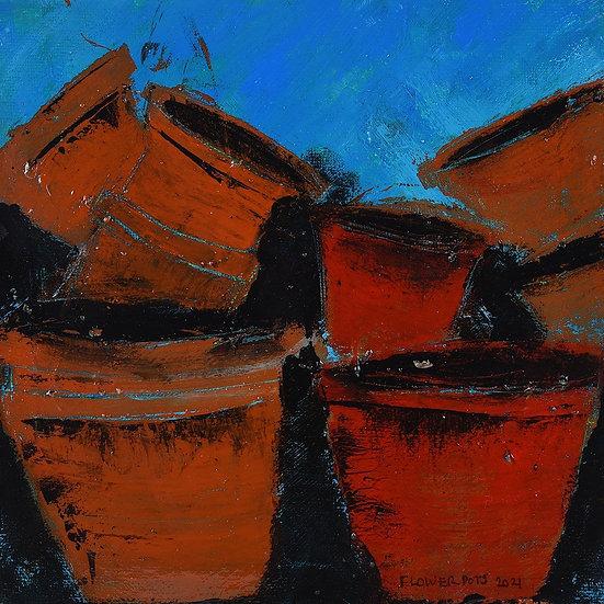 Original Oi on Canvas