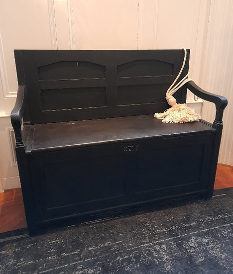 19thC Bavarian Box Bench