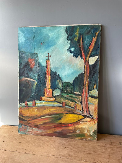 Impressionist Oil on Canvas by Fernand Audet