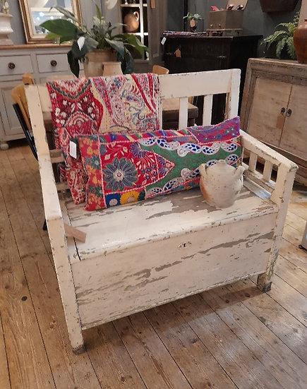 Antique Box Bench