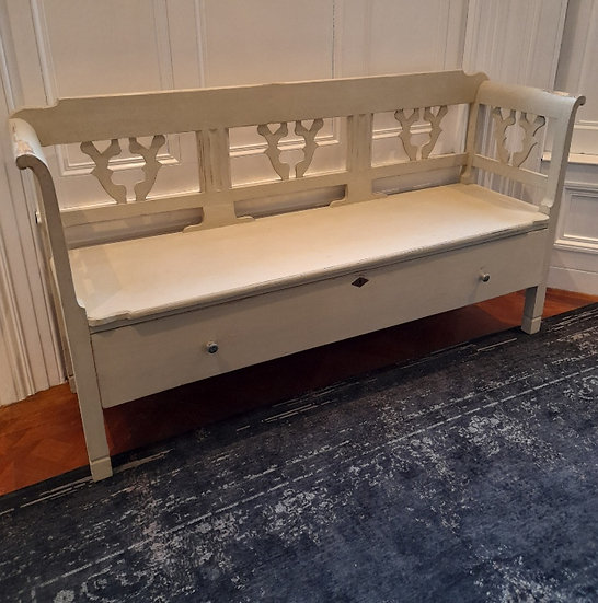 19thC Swedish Bench