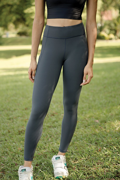 Voyage Performance Tights - Blueberry