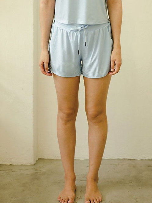 Drift Netted Shorts - Airy Blue