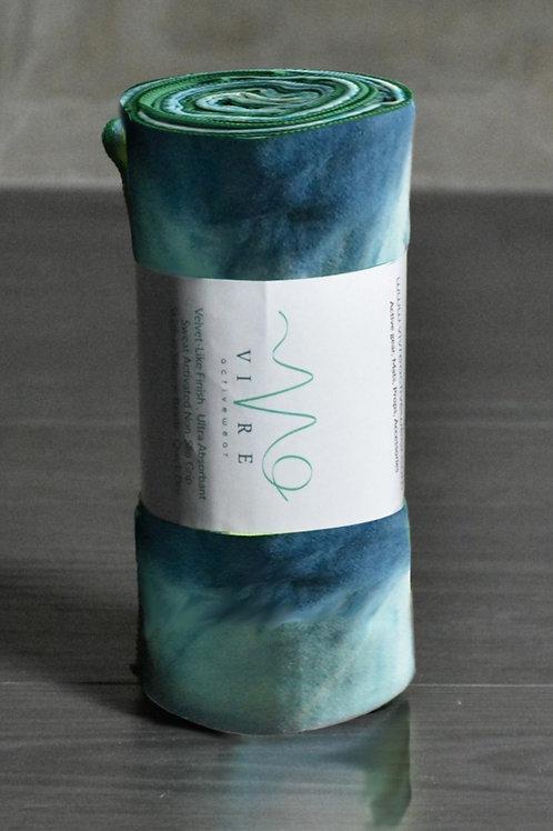 Unicorn Active Power Grip Yoga Towel - North Sea