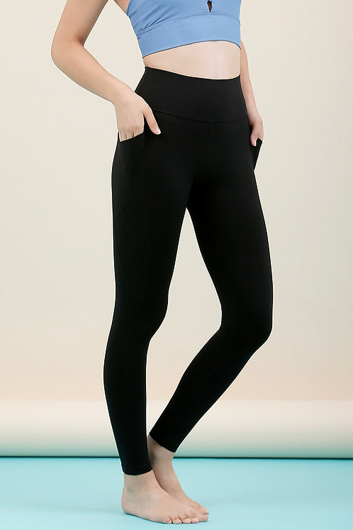 Radiate High-Rise Performance Tights - Classic Black
