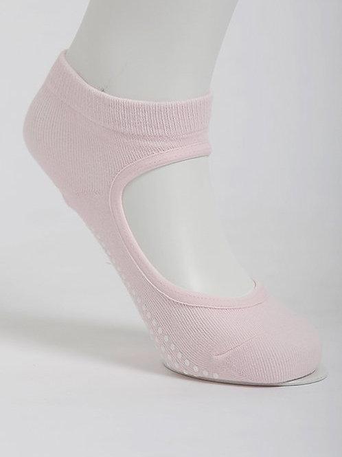 Get a Grip Barre Yoga Socks - Pink Icing