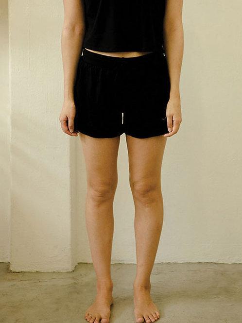 Drift Netted Shorts - Classic Black