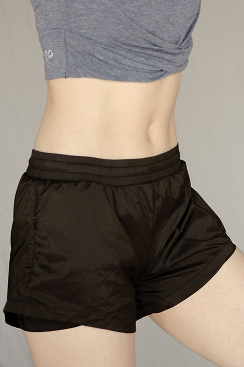 Hyped Up Active Shorts - Classic Black