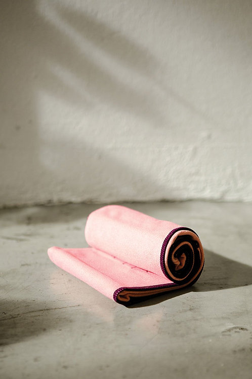 Active Power Grip Hand Towel - Peach Pink