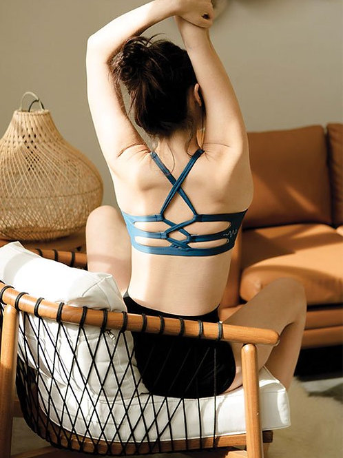 Virtuosity Active Sports Bra - Dark Blue