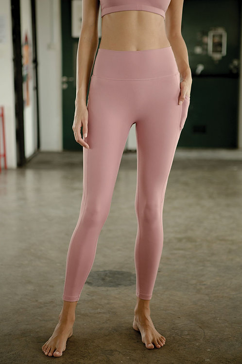 Radiate High-Rise Performance Tights - Foxglove