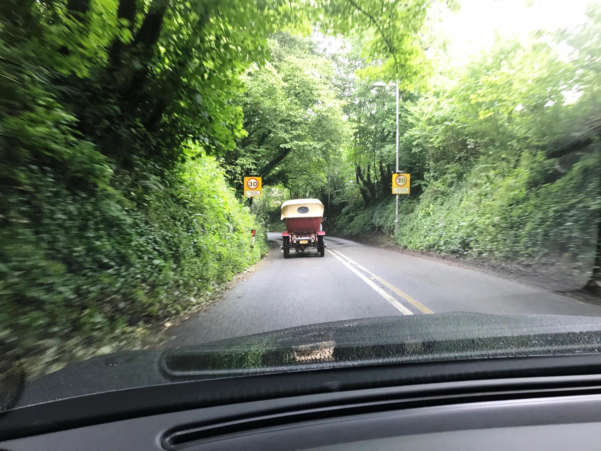 Following a SG in Dorset