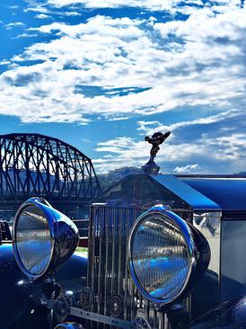 Bridge over the Vanden Plas