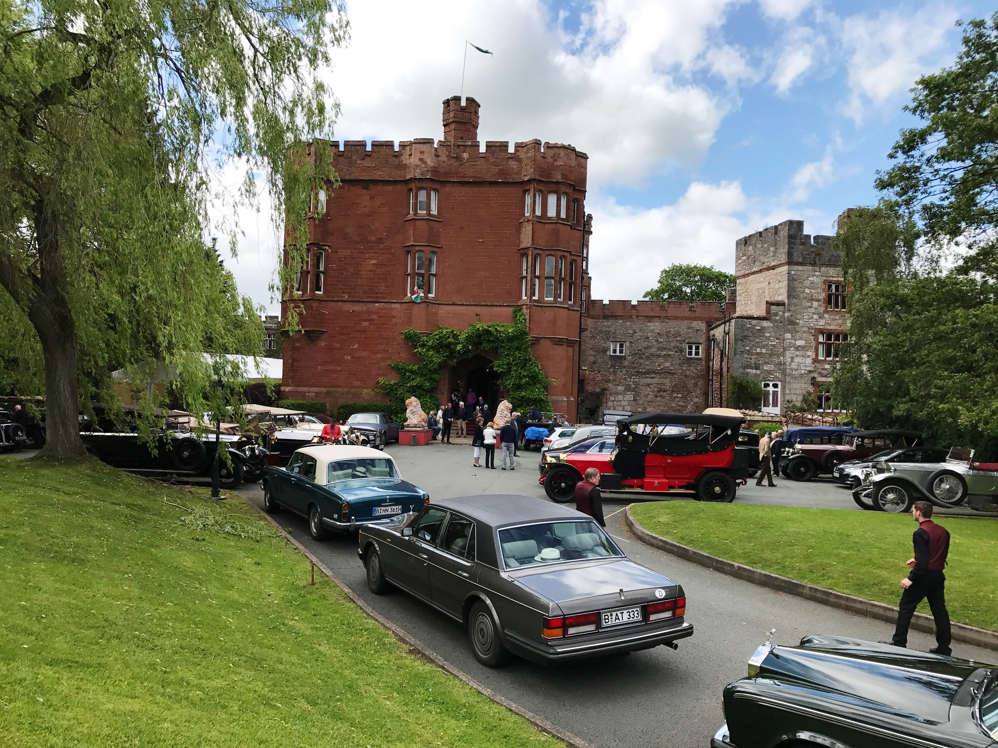 Ruthin Castle, North Wales