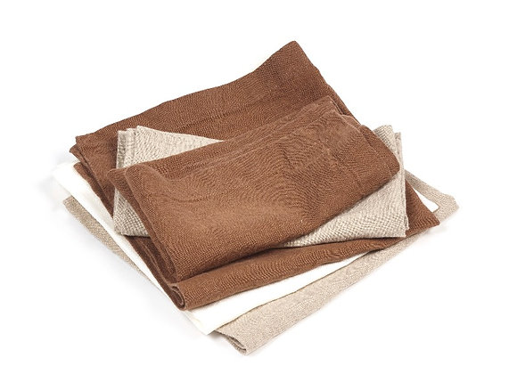 TIMMERY TABLE CLOTH BEESWAX BROWN172 x 275