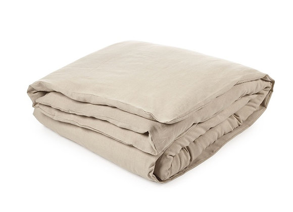 HERITAGE DUVET COVER FLAX 200 x 200