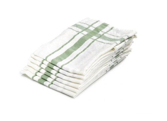 CAMARET TEA-TOWEL GREEN 70 x 70