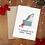 Thumbnail: Dog for Christmas Card