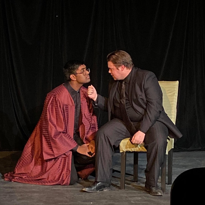 """Revitalizing A """"Closet Drama"""": A Review of English 2041F's Production of The Cenci"""