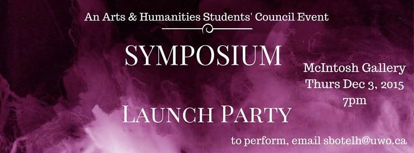 SYMPOSIUM LAUNCH PARTY