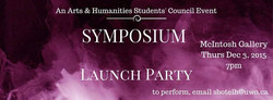 SYMPOSIUM LAUNCH PARTY