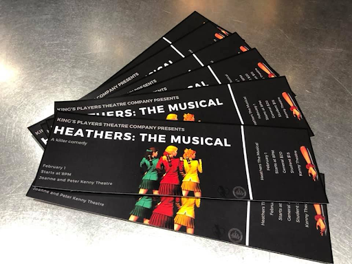 """Honey, whatchu waitin' for?"" A Review of King's Players Production of Heathers"