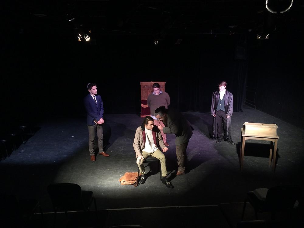 Baruch being Interrogated