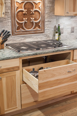 Stove Top and Storage Space