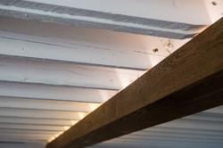 Overhead Beam reclaimed Hemlock