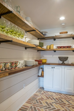 Floating Shelves with Pipe Brackets
