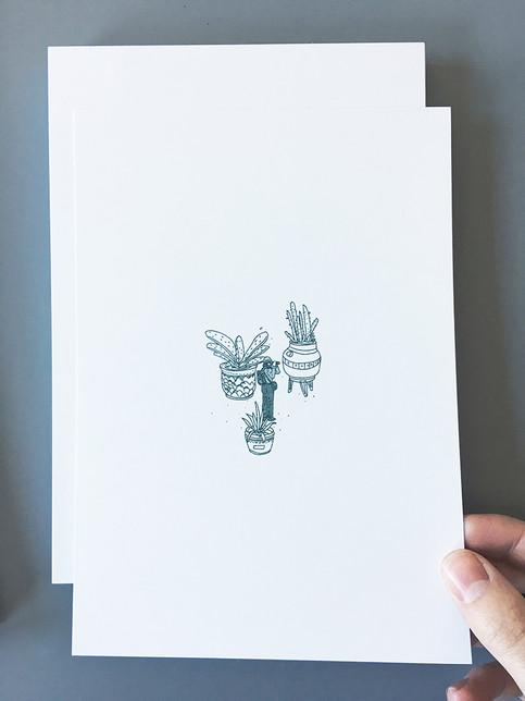 Cactus Hunter - Risograph