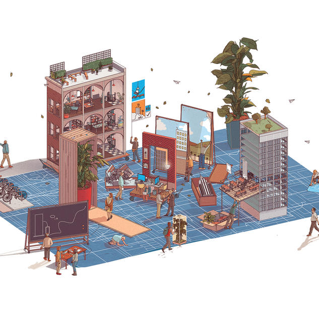 The Atlantic/WeWork - Configurable City