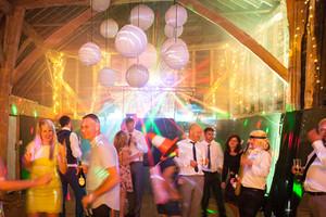 Small Wedding Disco
