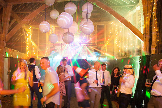 Small Wedding Disco