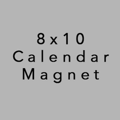 8x10 Calendar Magnet