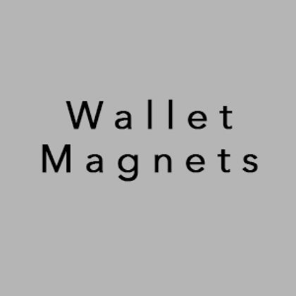 (8) Wallet Magnets