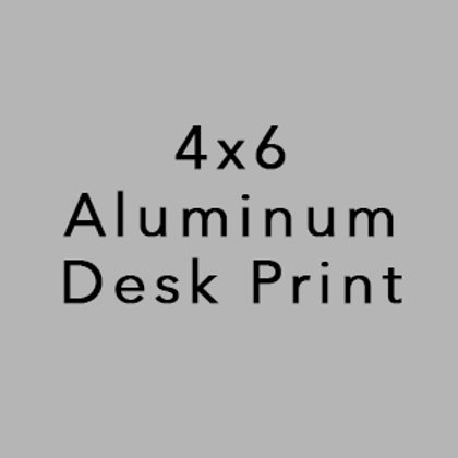 Aluminum Desk Print